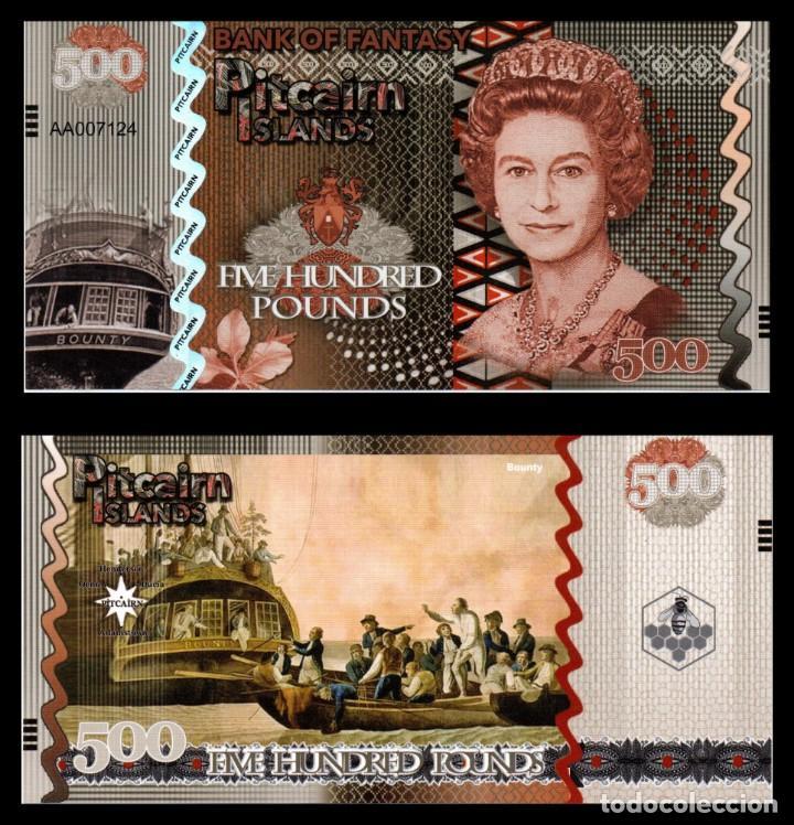 PITCAIRN ISLANDS 5 POUNDS 2018 UNC QUEEN ELIZABETH II