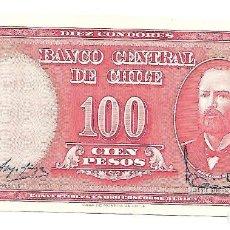Billetes extranjeros: CHILE 10 CENTESIMOS DE ESCUDO 1960-61 PICK 127A SIN CIRCULAR. Lote 130519282