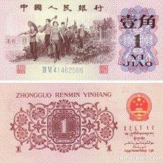 Billetes extranjeros - CHINA 1 JIAO 1962 PICK 877d - S/C - 131790790
