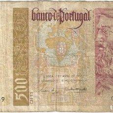 Billetes extranjeros: PORTUGAL 500 ESCUDOS 17-4-1997 PICK 187A.1. Lote 132167206
