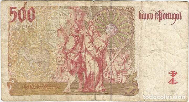 Billetes extranjeros: Portugal 500 escudos 17-4-1997 pick 187a.1 - Foto 2 - 132167206