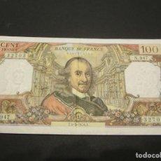Billetes extranjeros: BILLETE DE 100 FRANCOS DE FRANCIA BUENA CONSERVACIÓN. Lote 132508426
