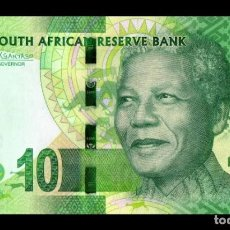 Billets internationaux: SUDAFRICA 10 RAND 2015. PICK 138B. SC (SIN CIRCULAR).. Lote 188626102