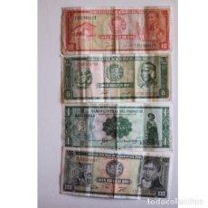Billetes extranjeros: ANTIGUOS BILLETES DE PERÚ. Lote 132615654