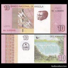 Billetes extranjeros: ANGOLA - 10 KWANZAS - OUTUBRO 2012 - S/C. Lote 183341907