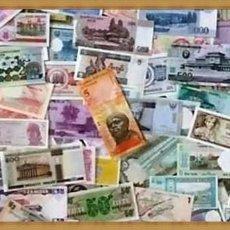 Billetes extranjeros: LOTE 50 BILLETES DEL MUNDO DIFERENTES SIN CIRCULAR-UNC,,. Lote 239372615