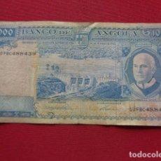 Billetes extranjeros: ANGOLA. COLONIA PORTUGUESA. 1000 ESCUDOS. 1962. Lote 133597098