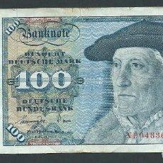 Billetes extranjeros: BILLETE 100 MARCOS AÑO 1977 ALEMANIA HUNDERT DEUTSHE MARK NF. Lote 134048486