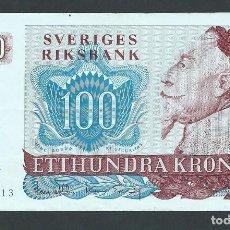 Billetes extranjeros: BILLETE 100 CORONAS SUECIA AÑO 1980 G. Lote 134123298