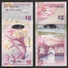 Billetes extranjeros: BERMUDA 5 DOLLARS 2009 PICK 58 - S/C. Lote 134377574