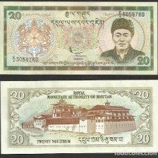 Notas Internacionais: BHUTAN 20 NGULTRUM 2000 PICK 23 - S/C. Lote 134405718