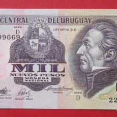Billetes extranjeros: URUGUAY. BILLETE DE 100 PESOS. SIN CIRCULAR.. Lote 135132298
