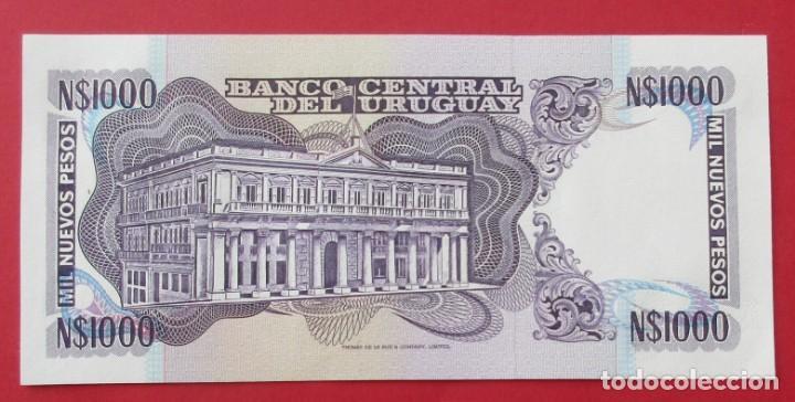 Billetes extranjeros: URUGUAY. BILLETE DE 100 PESOS. SIN CIRCULAR. - Foto 2 - 135132298