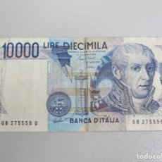 Billetes extranjeros: BILLETE 10000 LIRE. 1984. ITALIA . Lote 135615366