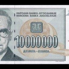 Notas Internacionais: YUGOSLAVIA 10000000 DINARA 1994 PICK 144 SC UNC. Lote 260800680