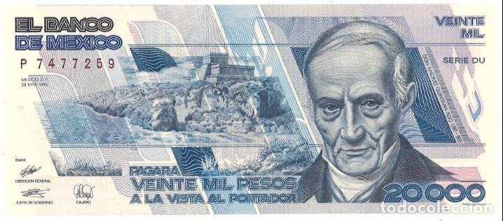 Mexico 20000 Veinte Mil Pesos 1989 Sin Ci Sold Through