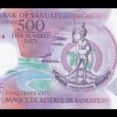 Billetes extranjeros: VANUATU 500 VATU 2017. PICK 18. POLIMERO. SC. (SIN CIRCULAR). . Lote 136408450