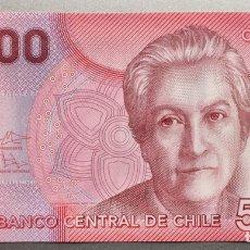 Billetes extranjeros: CHILE. 5000 PESOS. Lote 136725020