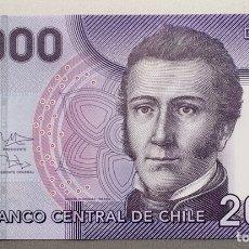 Billetes extranjeros: CHILE. 2000 PESOS. Lote 136725409