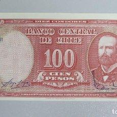Billetes extranjeros: BILLETE 100 CENTESIMOS DE ESCUDO. CHILE. Lote 137799682