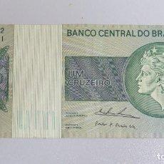 Billetes extranjeros: BILLETE 1 CRUZEIRO. BRASIL. Lote 137800554