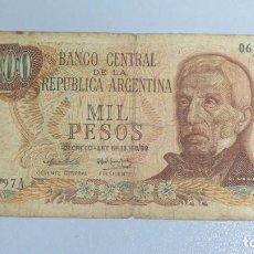 Billetes extranjeros: BILLETE 1000 PESOS. ARGENTINA. Lote 137800930