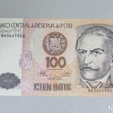 Billetes extranjeros: BILLETE 100 INTIS. PERU. Lote 137801182