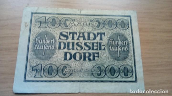 Billetes extranjeros: Alemania 10.000 marcos Dusseldorf 15-7-1923 - Foto 2 - 138879930