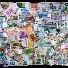 Billetes extranjeros: GRAN LOTE 125 BILLETES DEL MUNDO CALIDAD UNC TODOS DIFERENTES. Lote 142183381