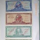 Billetes extranjeros: 4 BILLETES CUBA , MUESTRA, SIN CIRCULAR, 1, 5,10, 20 PESOS , Nº CEROS. , . Lote 139942830