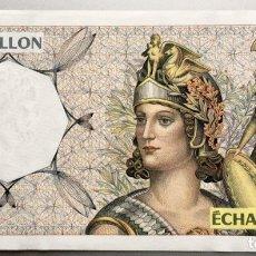 Billetes extranjeros: FRANCIA. ECHANTILLON. BILLETE DE PRUEBA. Lote 140465066