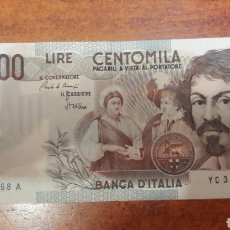 Billetes extranjeros: BILLETE ITALIA 100.000 LIRAS AÑO 1983 EBC+ SERIE YC331368 A. Lote 141532184