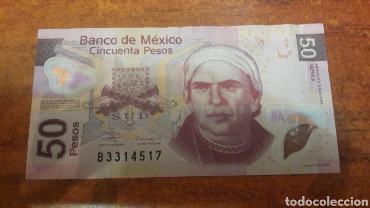 MEXICO BILLETE 2004 DE 50 PESOS (Numismática - Notafilia - Billetes Internacionales)