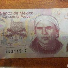 Billetes extranjeros: MEXICO BILLETE 2004 DE 50 PESOS. Lote 141533293
