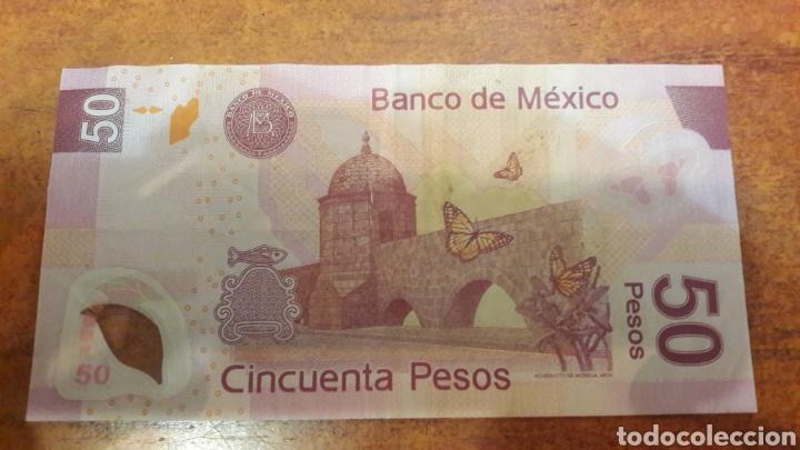 Billetes extranjeros: Mexico billete 2004 de 50 pesos - Foto 2 - 141533293