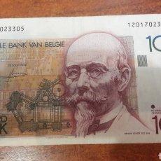 Billetes extranjeros: BILLETE BELGICA 100 FRANCOS 1994 NUMISMÁTICA COLISEVM COLECCIONISMO. Lote 141558513