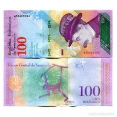 Billetes extranjeros: VENEZUELA 100 BOLIVARES SOBERANO 2018 P-NEW UNC. Lote 142184538