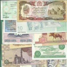 Billetes extranjeros: 37 BILLETES NO CIRCULADOS DE 37 PAISES DIFERENTES. VER LISTA. Lote 142326370