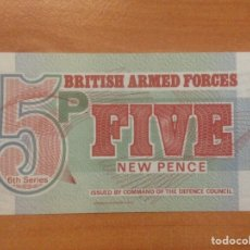 Billetes extranjeros: BILLETE BRITISH ARMED FORCES FIVE NEW PENCE 5P. Lote 142671716