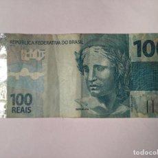 Billetes extranjeros: BILLETE 100 REAIS BRASIL 2010. Lote 143552986