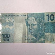 Billetes extranjeros: BILLETE 100 REAIS BRASIL 2010. Lote 143552998