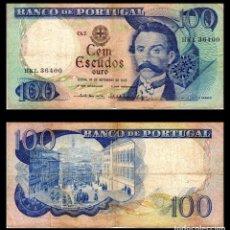 Billetes extranjeros: PORTUGAL 100 ESCUDOS 1978 PIK 169 BC+. Lote 144140086