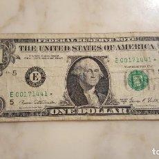 Billetes extranjeros: ESTADOS UNIDOS - 1 DOLAR. Lote 152498694