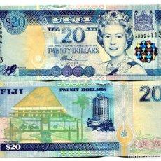 Billetes extranjeros: FIJI 20 DOLLARS ND(2002) P-107 UNC. Lote 144505906