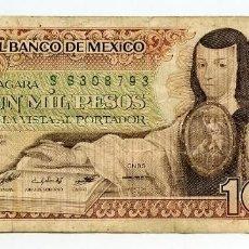 Billetes extranjeros: MÉJICO: 100 PESOS. USADO. MÉXICO. Lote 144636362