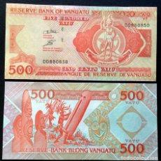 Billetes extranjeros: VANUATU. 500 VATU 1993. SERIE DD. DLR. PICK 5B. S/C.. Lote 144798900