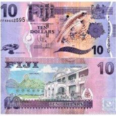 Billetes extranjeros: FIJI 10 DOLLARS ND(2013) P-116 UNC. Lote 171452617