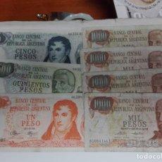 Billetes extranjeros: PESOS ARGENTINA. Lote 145155414