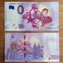 Billetes extranjeros: BILLETE DE 0 EURO 60 ANIVERSARIO ATOMIUM BÉLGICA 2018. CON LOS MISMOS SISTEMAS DE AUTENTIFICACIÓN. Lote 145454242