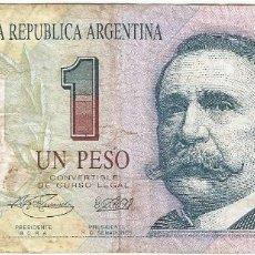 Billetes extranjeros: ARGENTINA 1 PESO 1993 PICK 339B. Lote 145935566
